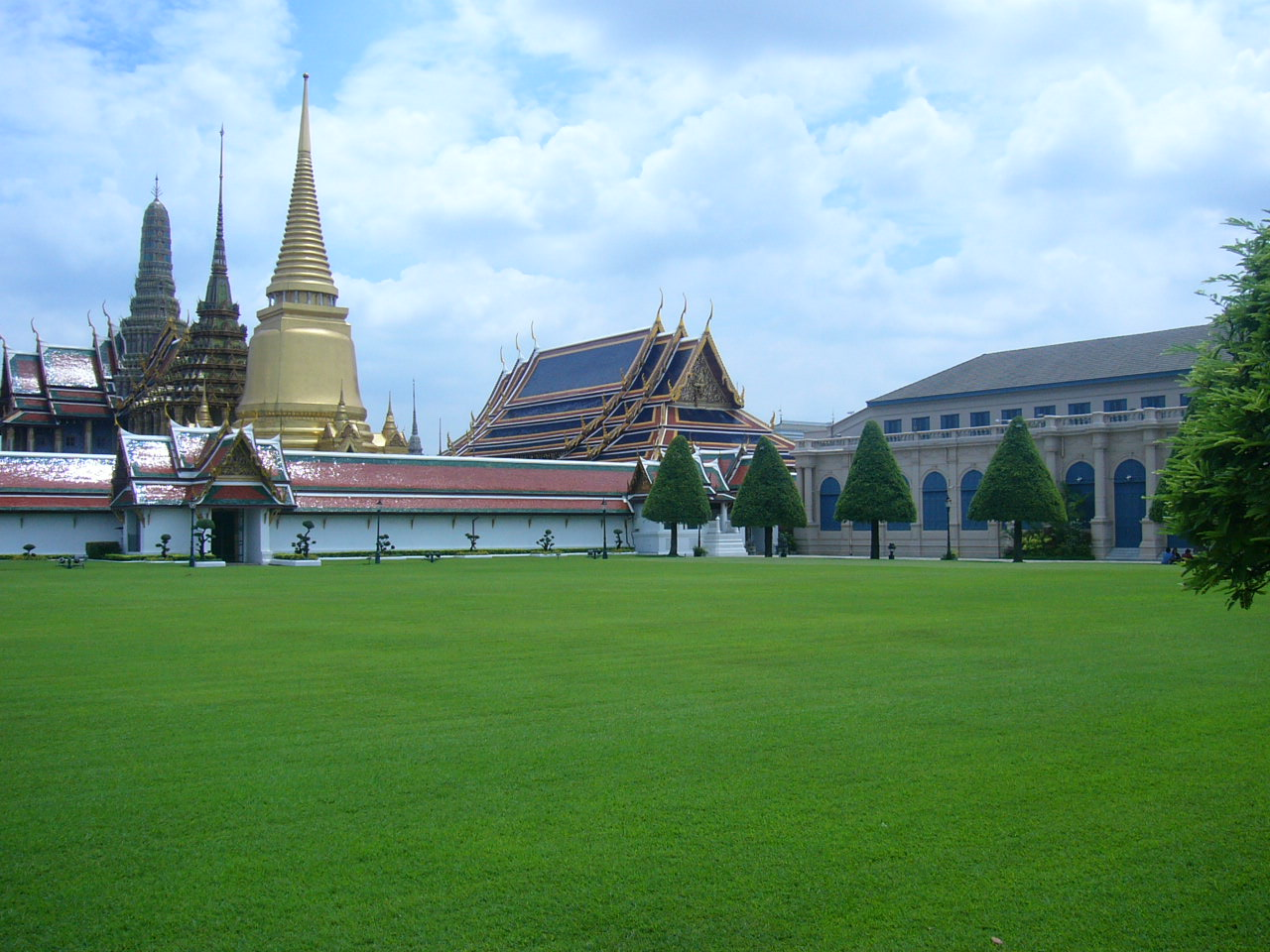 A view from Grand Palace- Thailand - Bangkok